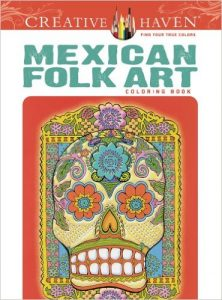 Mexican Folk Art – Adult Coloring Book