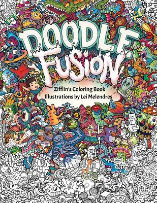 Doodle Fusion - Adult Coloring Book Review