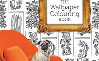 wallpaper colouring book for adults