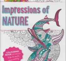 Impressions of Nature budget adult colouring book