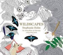 Wildscapes - Art Therapy Book - Stephanie Holm