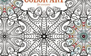 Kaleidescope Wonders Colouring Book