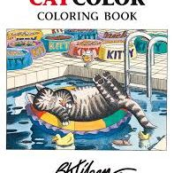 cat color coloring book