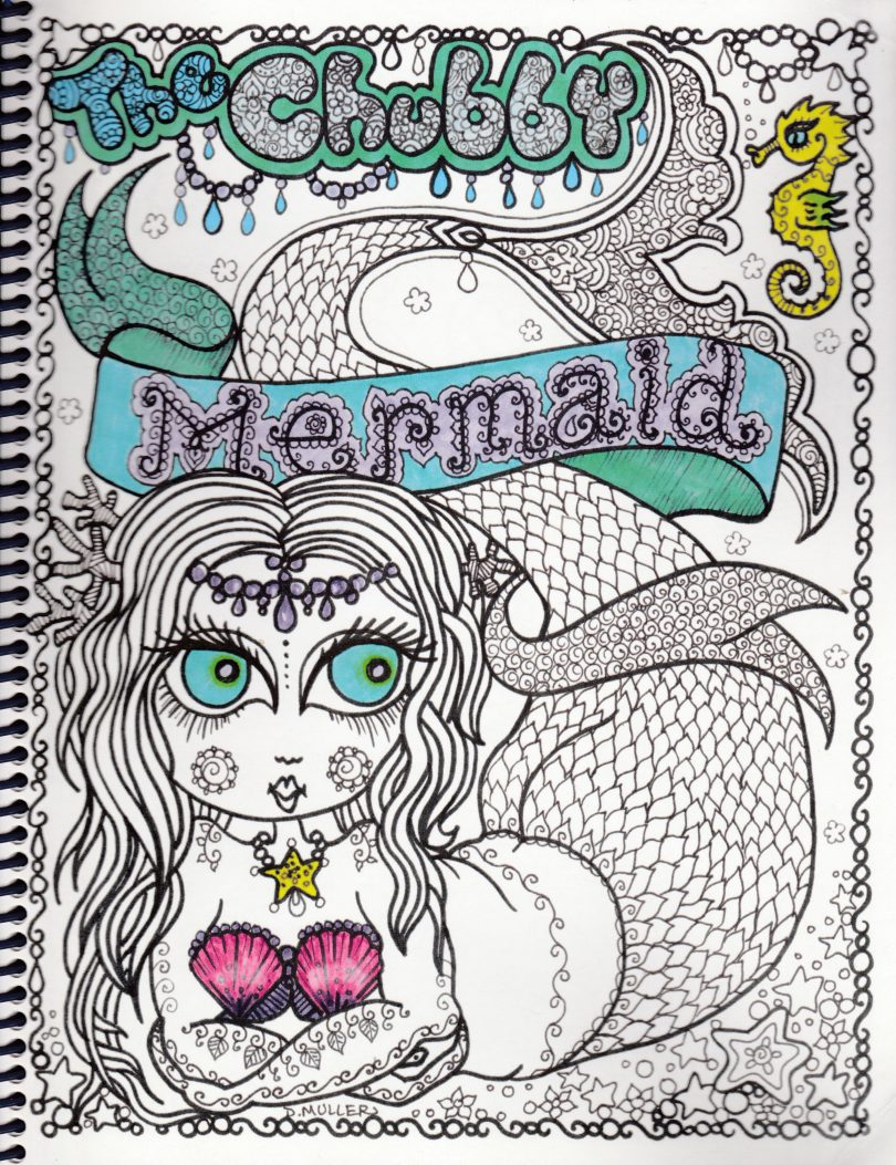 The Chubby Mermaid - Deborah Muller