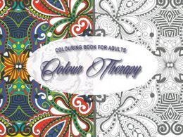 Colouring Book For Adults - Colour Therapy