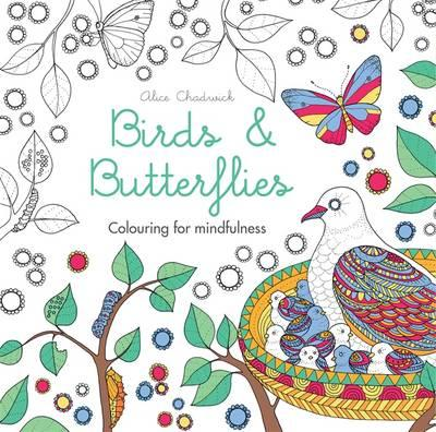 Birds & Butterflies Colouring Book - Adult Colouring Book Review