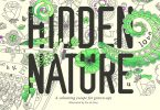 Hidden Nature Colouring Book