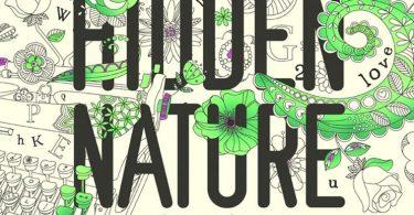 Hidden Nature Colouring Book