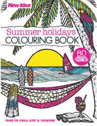 Summer Holidays Colouring Book