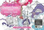 Elephant Parade Postcard Colouring Book