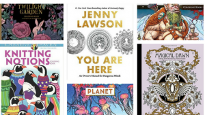 Coloring Books New Releases  – March 2017
