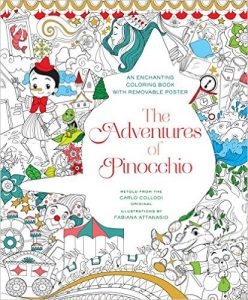 The Adventures of Pinocchio Coloring Book by Fabiana Attanasio