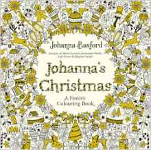 Johanna's Christmas: A Festive Colouring Book (UK edition)