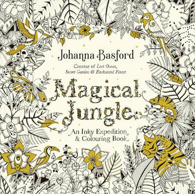 Magical Jungle Coloring Book Review | Coloring Queen