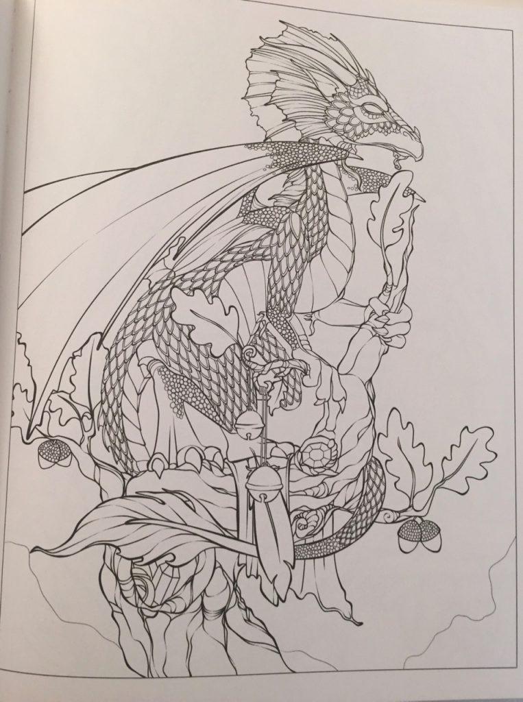 Dreams Of Dragons Amp Dragon Kin Coloring Book Ravynne