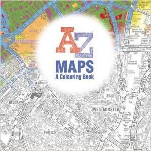 A-Z Maps Coloring Book