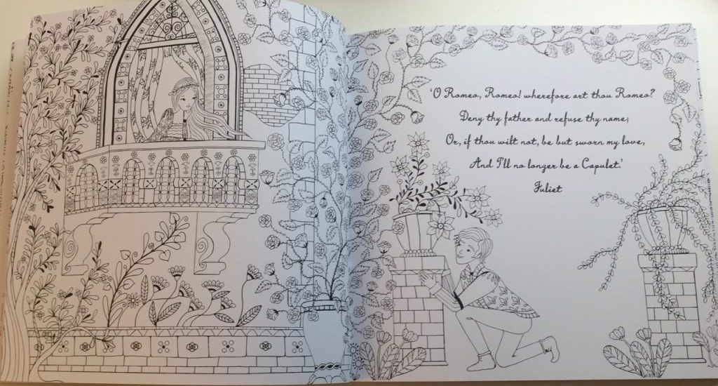 Romeo annd juliet coloring pages | 550x1024