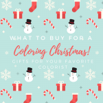 What to buy your favorite colorist this Christmas?