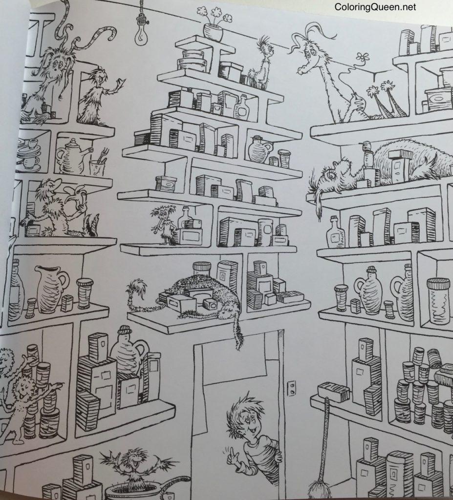 Dr Seuss Coloring Book | Coloring Queen