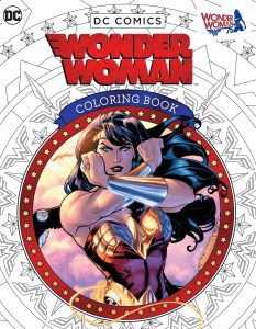 DC Comics Wonder Woman Coloring Book