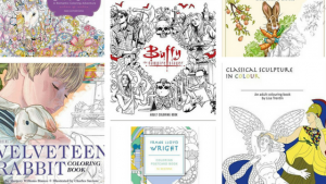 Coloring Books New Releases – January 2017