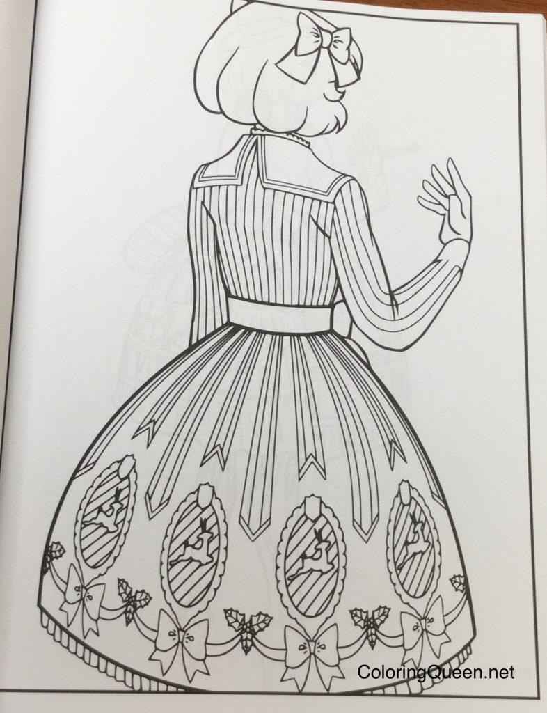 Lolita Fashion Coloring Book   This Mortal Coil   1024x786