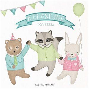 Målarbok Kalasdjur (Coloring Party Animals)