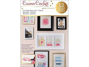 Cosmo Cricket – Just Add Watercolor – Quote Cards
