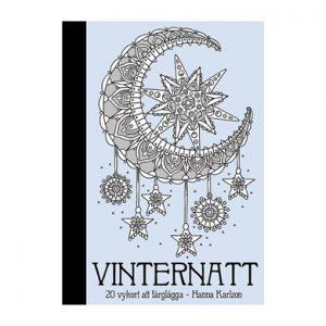 Vinternatt (Winter Nights) Postcard Book