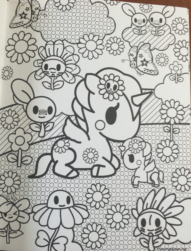 Tokidoki Coloring Book | Coloring Queen