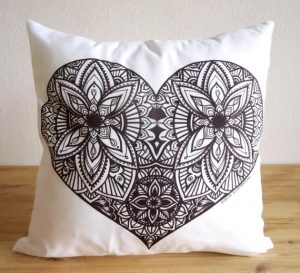 Colorable Cushion Cover