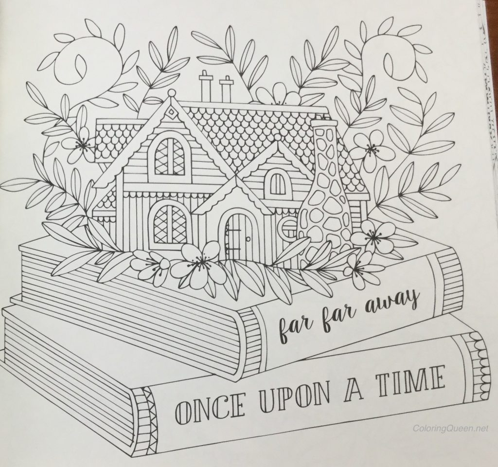 Fairy Tales Coloring Book Review Published In Sweden As