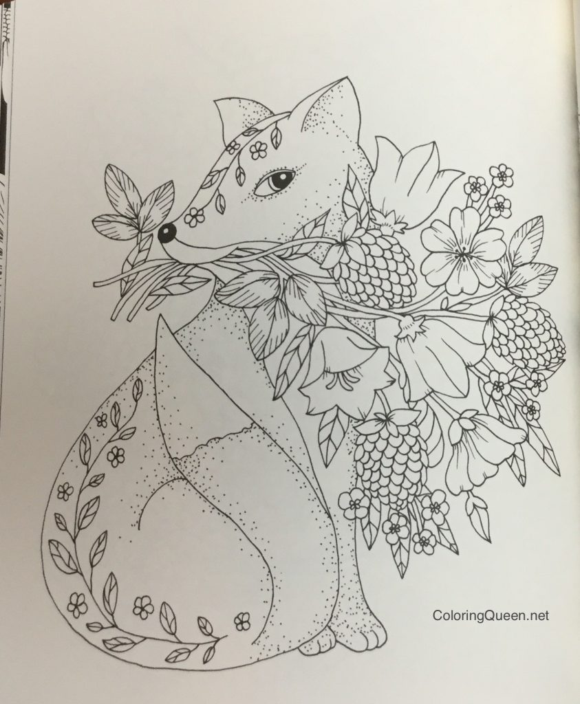 Twilight Garden Coloring Book aka Blomster Mandala Coloring Queen
