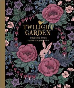 Twilight Garden Coloring Book (aka Blomster Mandala)