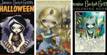 Untitled design 375x195 - Jasmine Becket-Griffith Journal & New Coloring Book