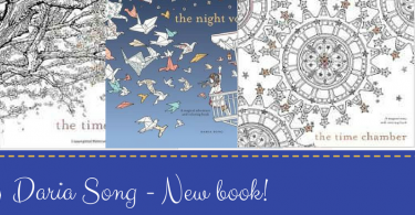 Daria Song New book 375x195 - The Mysterious Mansion - A New Coloring Book from Daria Song!