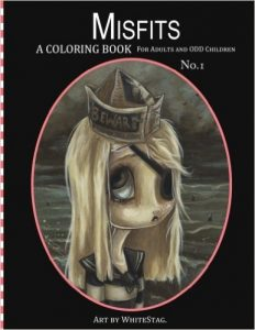 Misfits Coloring Book Review – Volume 1