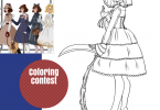 C 145x100 - Lolita Fashion Coloring Contest & Giveaway