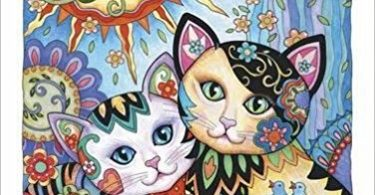 Creative Kittens Coloring Book cover