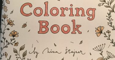 Nina Stajner Coloring Book Cover