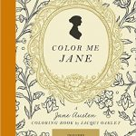 Color Me Jane Coloring Book Cover art