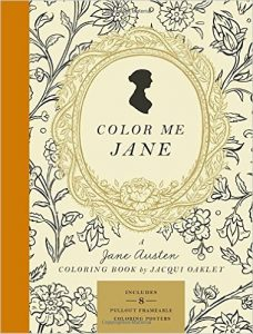 Color Me Jane Coloring Book