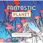 cover art of Fantastic Planet Coloring Book by Steve McDonald