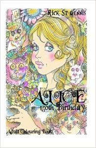 Alice 150th Birthday – Adult Colouring Book