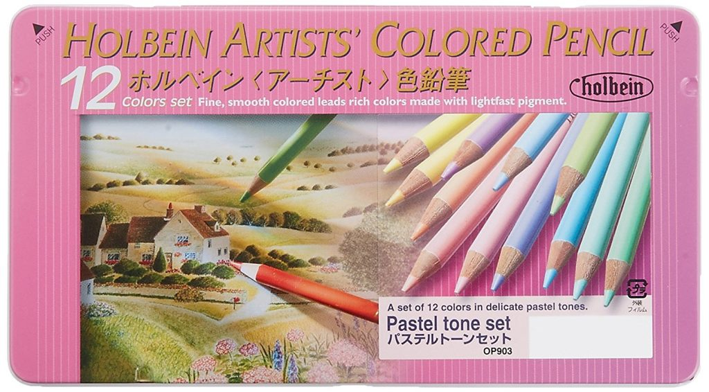 holbein colored pencils – pastel tone set (12 pc) review