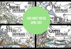 Coloring Contest Coloring Queen 800x600 145x100 - Love What You Do Monthly Giveaway - April 2017