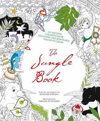 The Jungle Book: Colouring Book and Removable Poster
