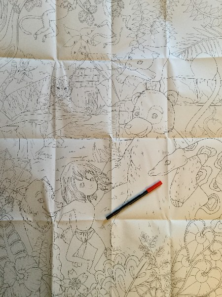 The Jungle Book Coloring poster - full size
