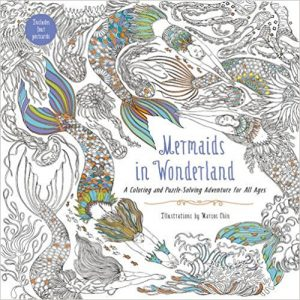 Mermaids in Wonderland Coloring Book Review