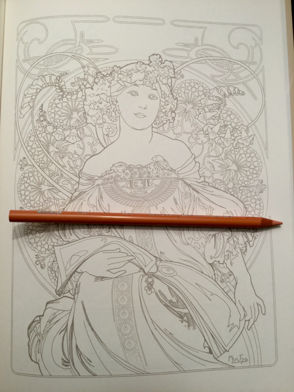 - Mucha Coloring Book Review Coloring Queen